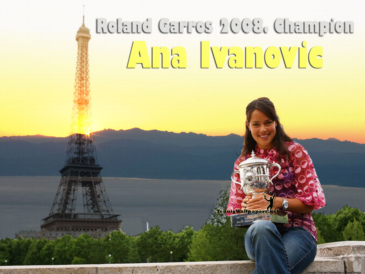 Ana Ivanovic French Open 2008