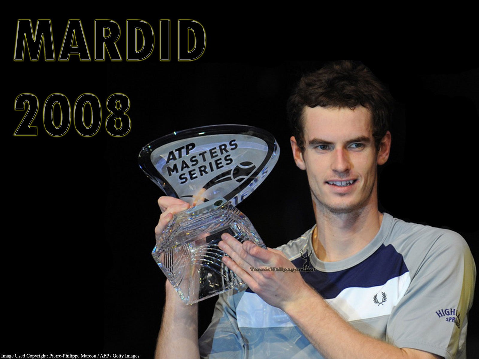 Andy Murray Madrid 2008