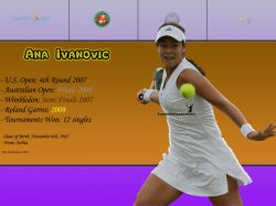 Ana Ivanovic Titles Info