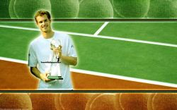 Andy Murray Rogers Masters 2009 Widescreen