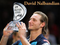 David Nalbandian Paris Masters Trophy