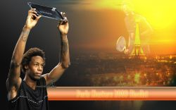 Gael Monfils Paris Masters 2009 Widescreen