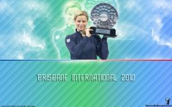 Kim Clijsters Brisbane International 2010