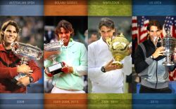 Rafael Nadal Grand Slams Collection