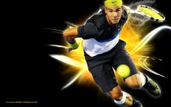 Rafael Nadal Speed Widescreen